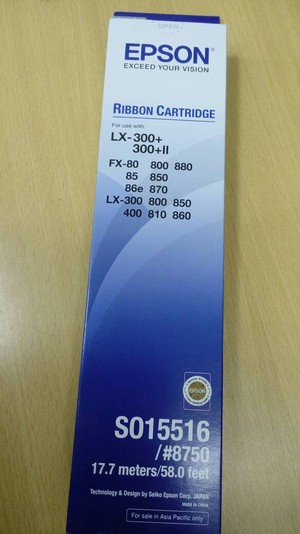 Jual Ribbon Pita Cartridge Original Epson Lx 300 Ii 310 So15516
