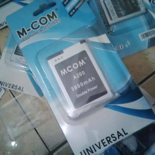 harga Mcom Baterai Battery Evercoss A200 3800mah Tokopedia.com