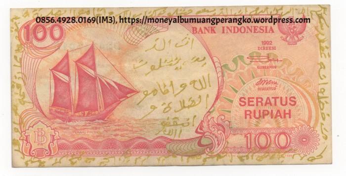 Jual Uang Kuno 100 Kertas Rupiah Pinisi 0856 4928 0169 Im3 Uang