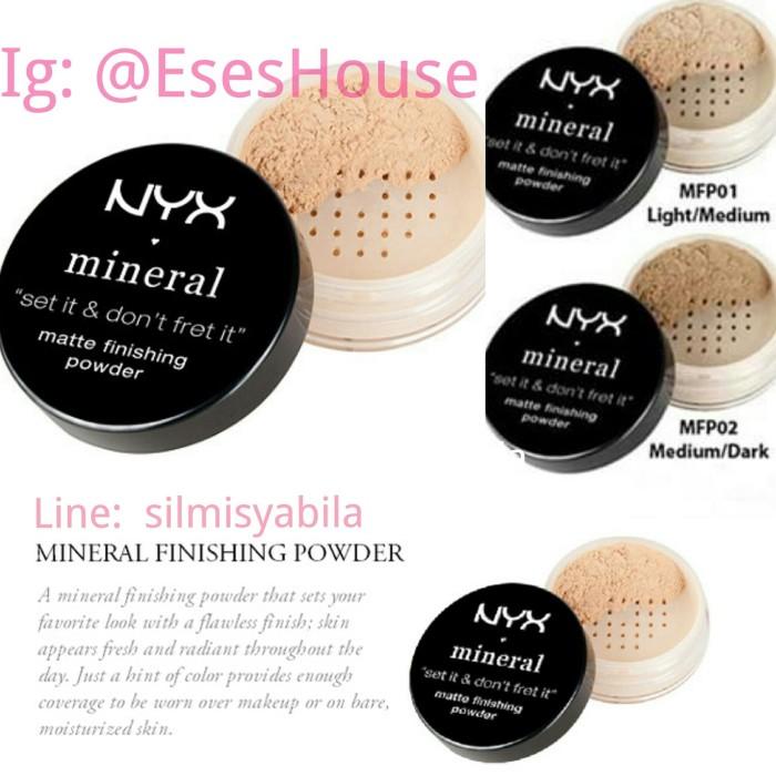 Jual Nyx Mineral Matte Finishing Powder