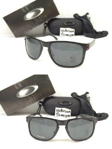 b0c73a81642 kacamata oakley holbrook titanium (BLACK   DOT MERAH) kaca Polarized