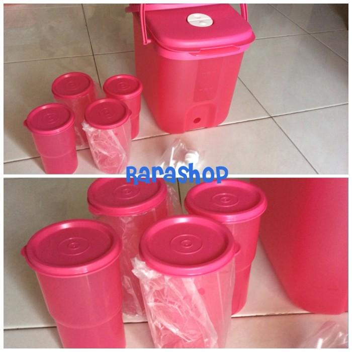 Water Dispenser PINK Tupperware Sale bonus outdoor set tumbler 4 pcs