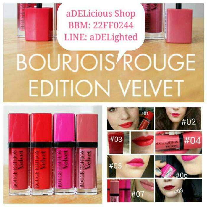 harga Bourjois rouge edition velvet Tokopedia.com
