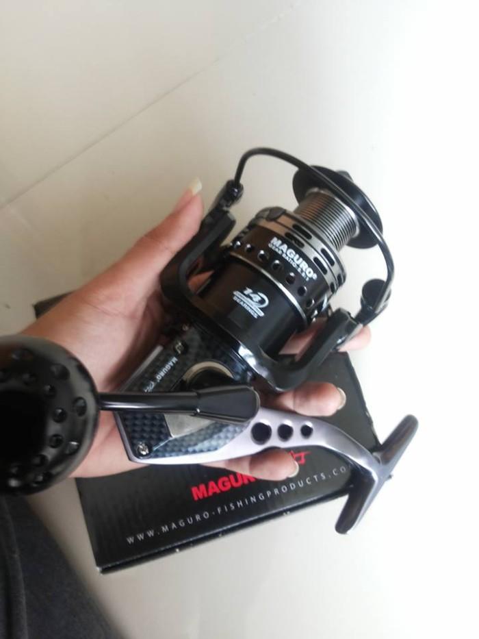 Jual Spining Reel Maguro Storm 5000 14 Bearing