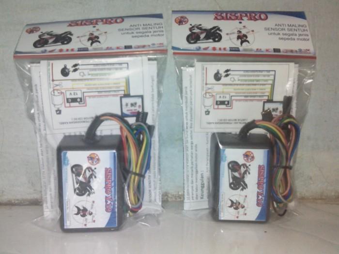 Jual Alarm Motor Sensor Sentuh Paling Canggih Garansi 1 Th Kab