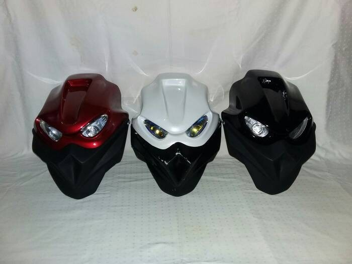 harga Batok headlamp streetfighter monster street fighter aksesoris motor Tokopedia.com