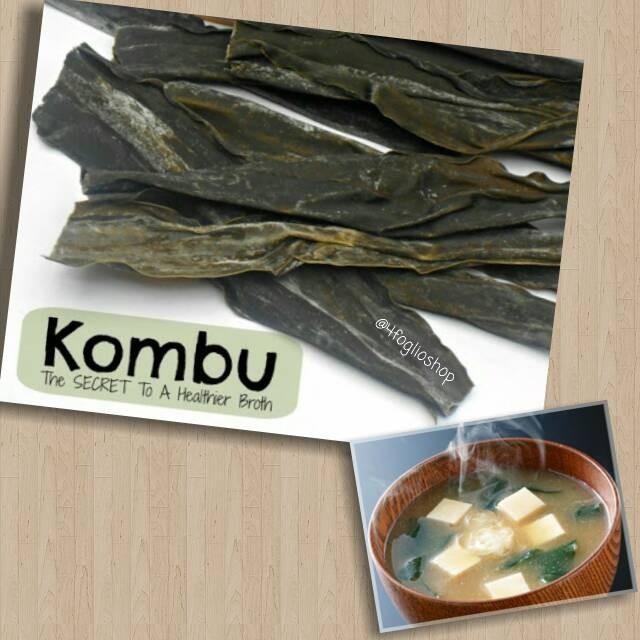 Kombu organik (kelp) 50 gram