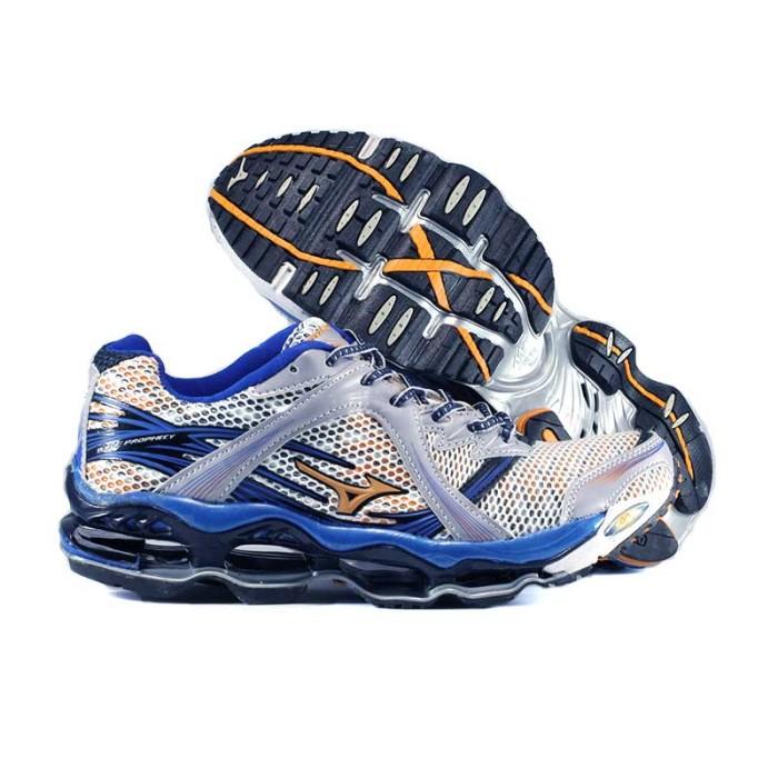 Jual Sepatu Mizuno Wave Prophecy Blue - sukasepatu  dc0c503e21