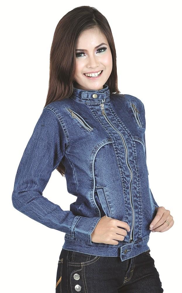 Jual jaket jeans wanita  jaket wanita murah  grosir jaket murah spi ... 8376833b43