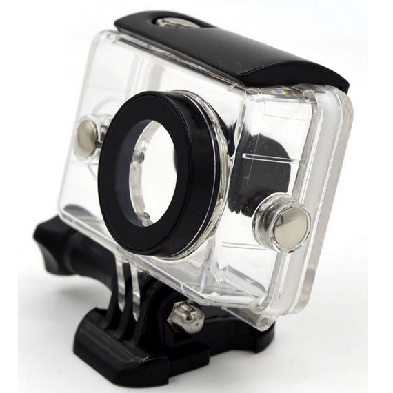 harga Underwater waterproof case ipx68 40m for xiaomi yi - hitam Tokopedia.com