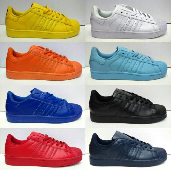 Jual Adidas Superstar Supercolor Premium Quality Men - Hopeolshop ... 456c91584c