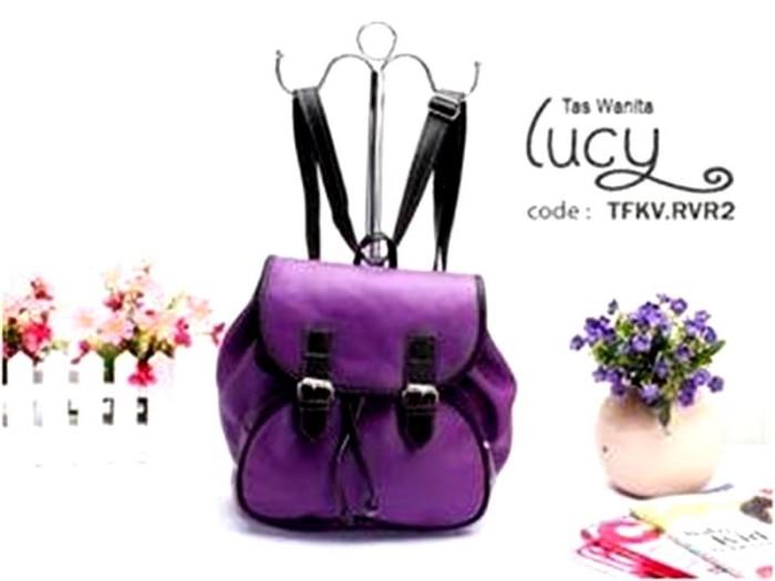 harga 11 ransel lucy tfkvrvr2uh tas wanita import cantik unik murah model Tokopedia.com