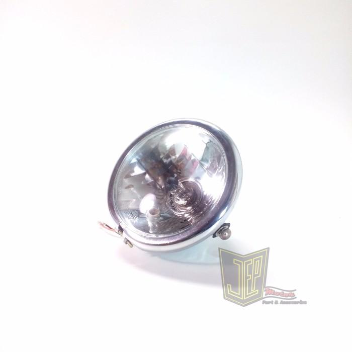harga Lampu depan japstyle jute kristal krom full besi Tokopedia.com
