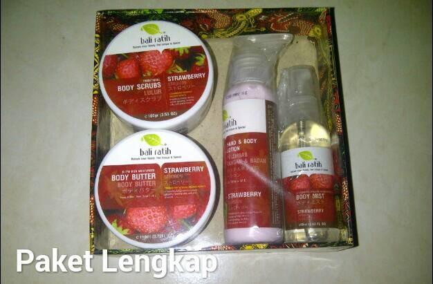 harga Paket Bali Ratih Lengkap Isi Mist, Lotion, Butter Dan Lulur Tokopedia.com