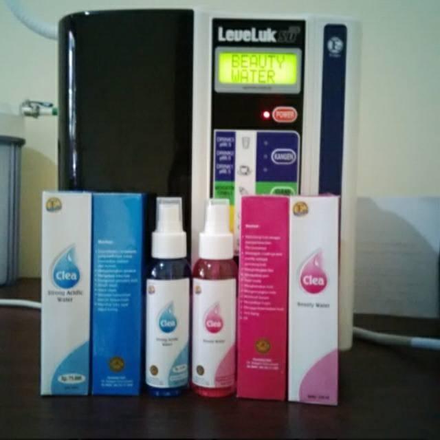 1 paket beauty water + strong acid 120ml (box+segel) by kangen water