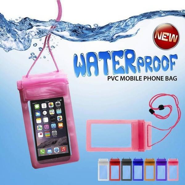... harga Waterproof bag case for mobile phone / tempat pelindung hp anti air Tokopedia.com