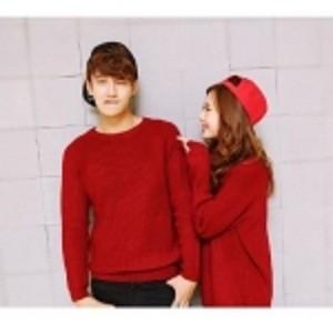 Jual Baju Red Couple Rajut Ervina Grosir Pandaan Ervina