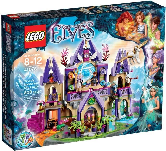 harga Lego 41078 elves skyra's mysterious sky castle Tokopedia.com