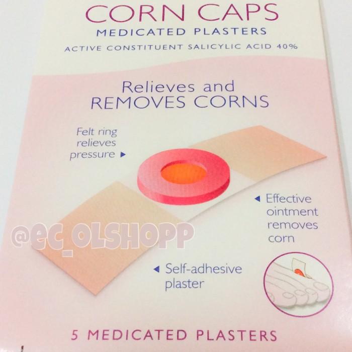 Jual Corn Caps Carnation Plester Ampuh Obat Mata Ikan Kutil