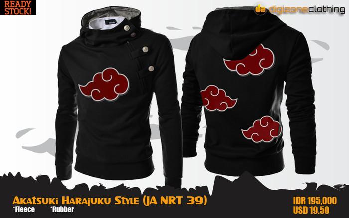 harga Jual akatsuki harajuku style hoodie (jaket anime naruto - ja nrt 39) Tokopedia.com