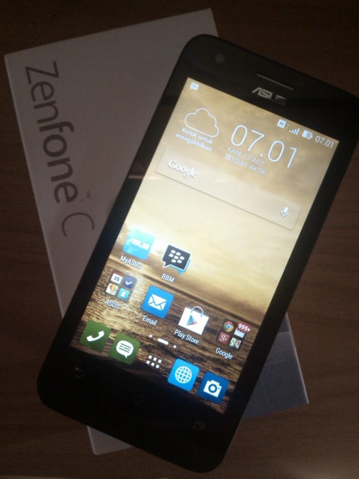 Hp Asus Zenfone C Putih Handphone Android Second Bekas Seken Murah