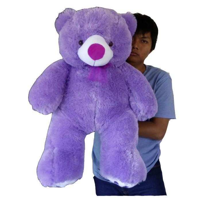 harga Boneka beruang besar ungu Tokopedia.com