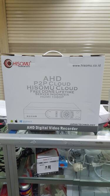 harga Dvr hisomu tribid 4ch support ahdanalog dan ip kamera Tokopedia.com
