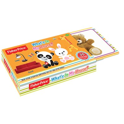 harga Flash card what's in my house by fisher price Tokopedia.com