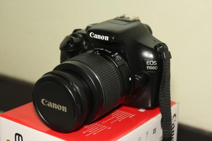 Foto Produk Kamera Dlsr Canon Eos 1100D Kit Lensa 18-55mm dari Reselular L Figo Cell