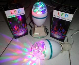 Jual Lampu Putar Full Color Disko Disco Dugem Diskotik