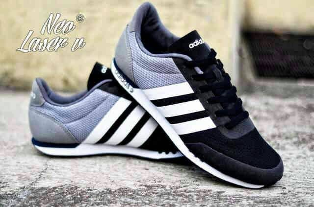 coupon for sepatu casual adidas neo city laser grey black white original  aa154 39aec 264f2cc7d0