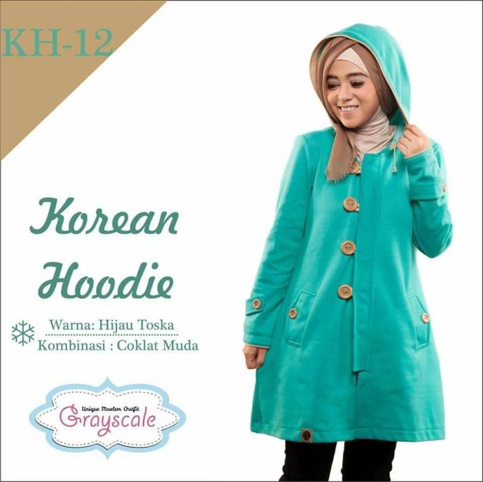 harga Jaket h12 wanita muslimah grayscale Tokopedia.com