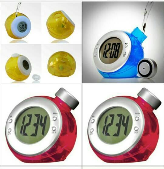 harga Jam digital tenaga air / water powered digital clock Tokopedia.com