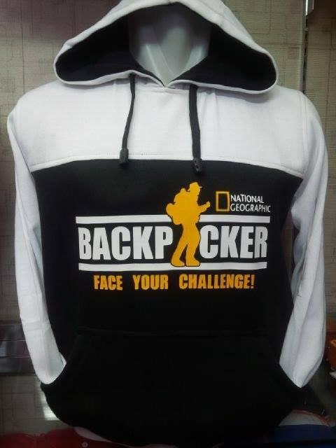 harga Jaket/hoodie/sweater national geographic putih/hitam 2 Tokopedia.com