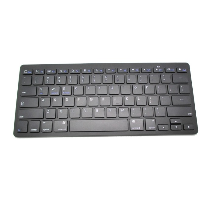 Foto Produk Wireless Bluetooth Keyboard 3.0 Multimedia for Android/Ios/Apple dari BudgetGadget