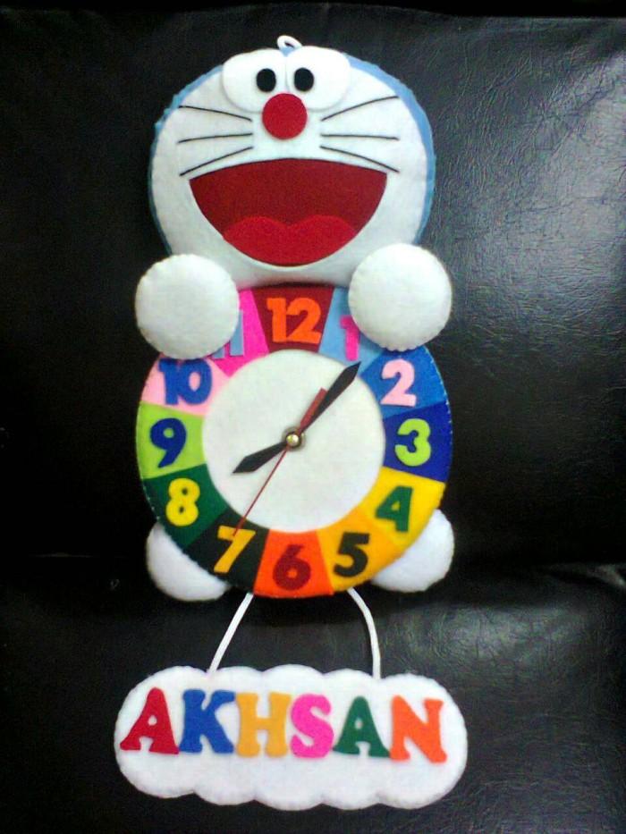 Jual Kreasi Jam Dinding Flanel Lucu Unik Karakter Kartun Doraemon ... 9866cb82dd