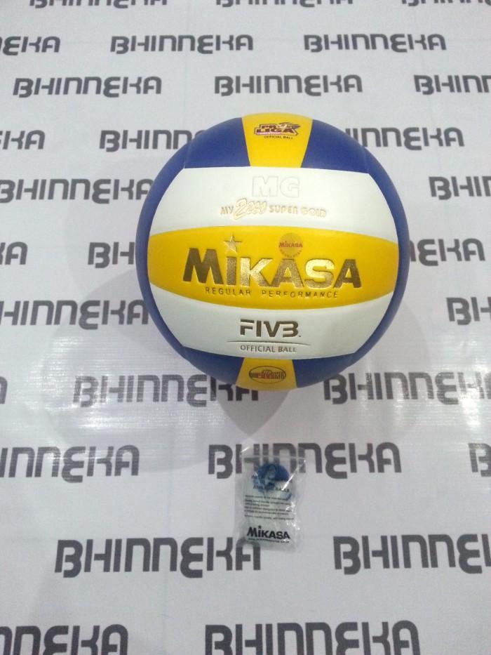 harga Bola voli / bola volley mg mv 2200 super gold (original) Tokopedia.com