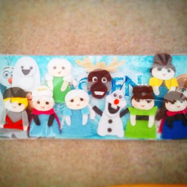 Jual Boneka Jari Frozen Lengkap 10pcs - Donitababe  17e3e326c9