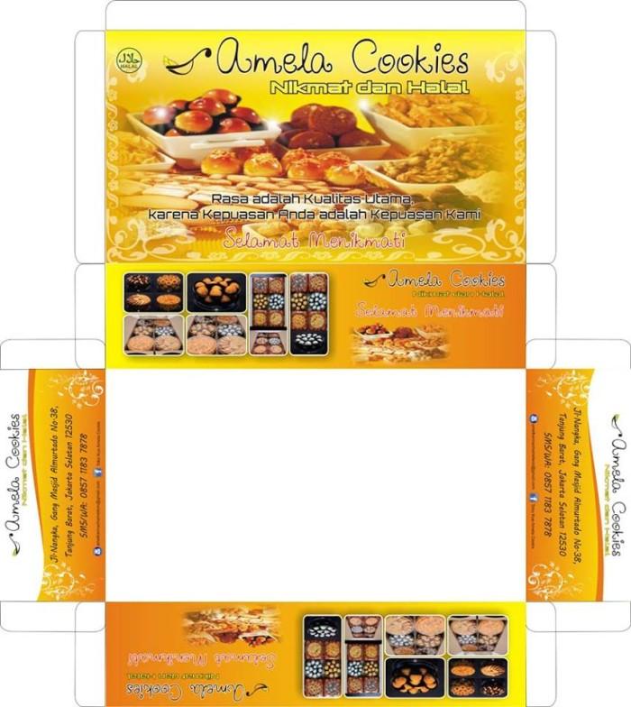Jual Full Desain Box Kardus Obat Snack Box Catering Makanan