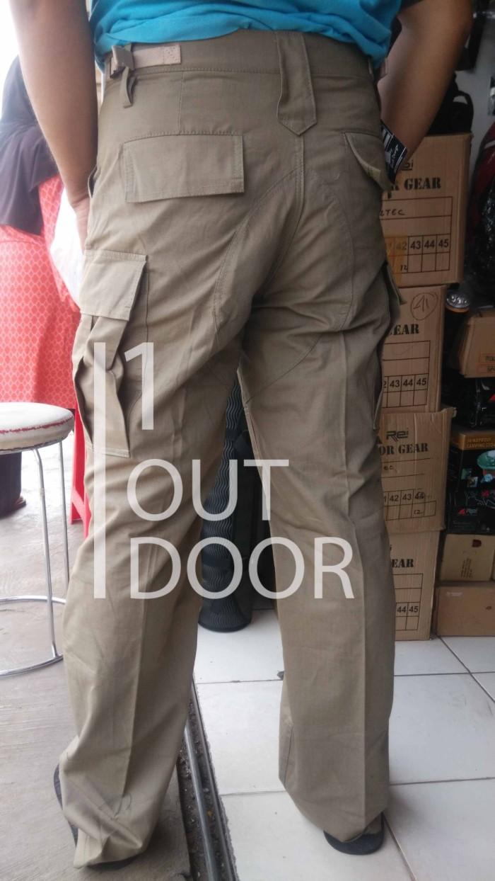 Jual Celana Gunung Pria Pdl Cargo Outdoor Alpina Ripstop Panjang Hijau Original