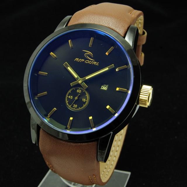 harga Jam tangan pria/cowok ripcul detroit kulit detik bawah coklat muda Tokopedia.com