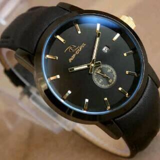 harga Jam tangan pria/cowok ripcul detroit kilit detik bawah hitam Tokopedia.com