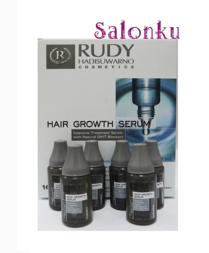 harga Rudy hair growth serum 6x9ml (serum rambut rontok) Tokopedia.com