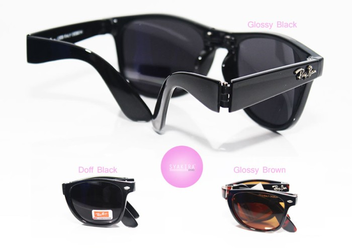 ... where to buy kacamata rayban lipat rayban wayfarer folding kacamata  branded murah 20d43 7db1c d58ea8435d