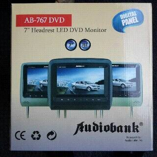 harga Headrest 7  monitor  tv  game  dvd player Tokopedia.com