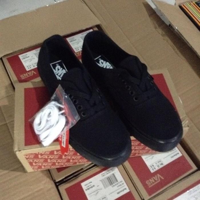 5a94850b4f Jual Vans Autenthic Full Black (ICC) - Vans Store Surabaya