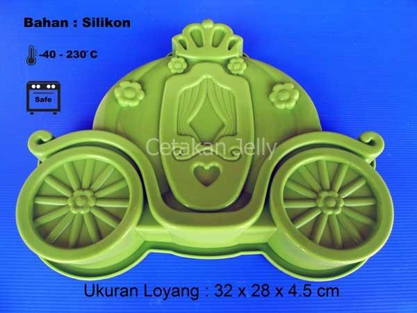 Cetakan kue / puding royal chariot
