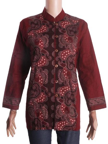 harga Blus batik sabrina (seragam) Tokopedia.com