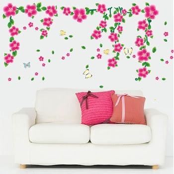 Fitur Ay7099 Pink Vines Flower Stiker Dinding Wall Sticker 50x70 Source · WALL STICKER WALL STIKER