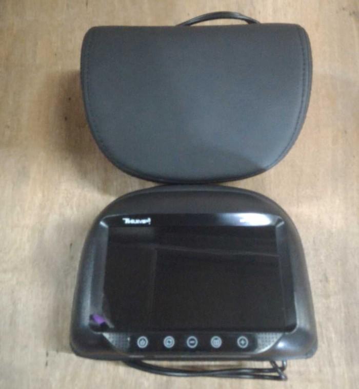 harga Headrest monitor / tv jok mobil model bulat hitam Tokopedia.com